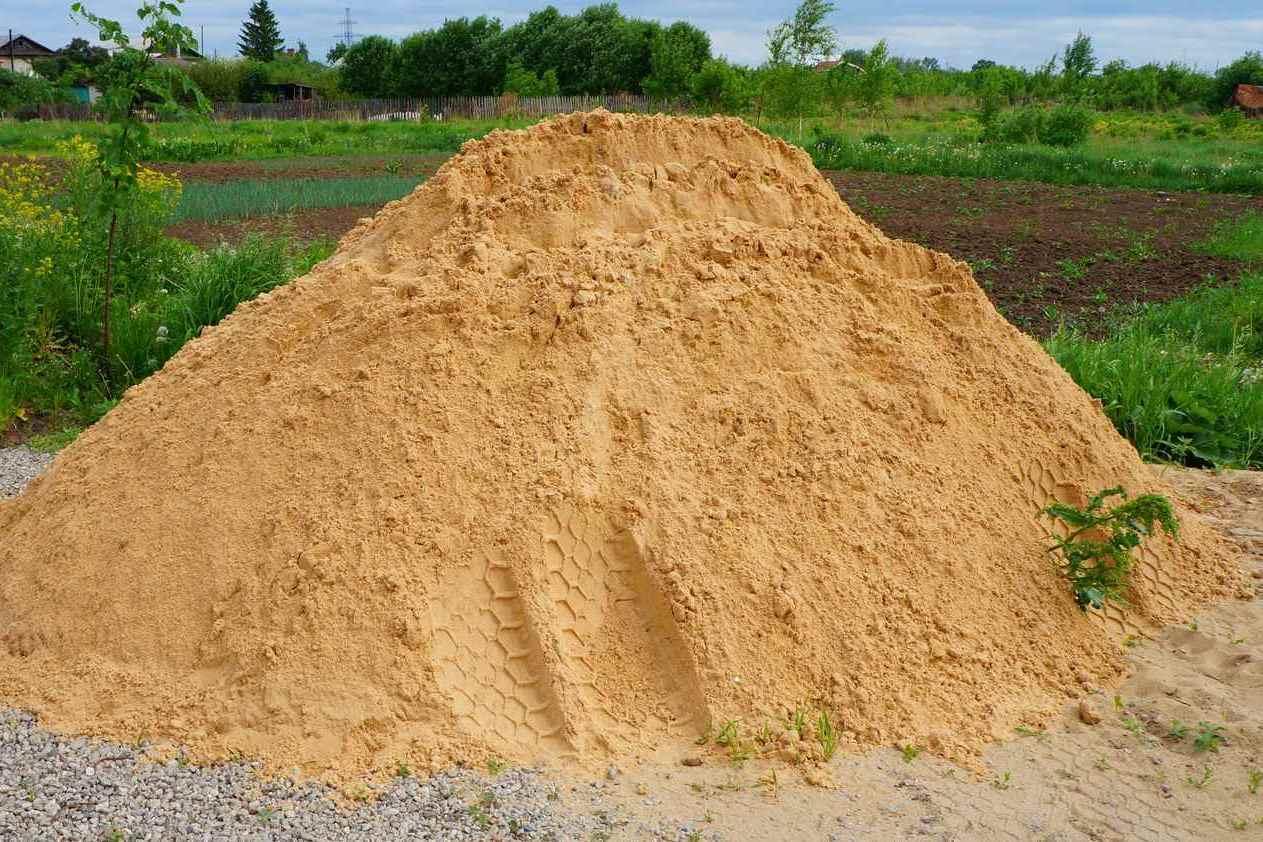 куб речного песка